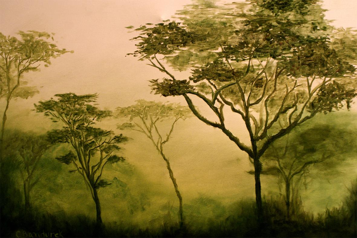 CynthiaBandurek_oil painting- rainforest