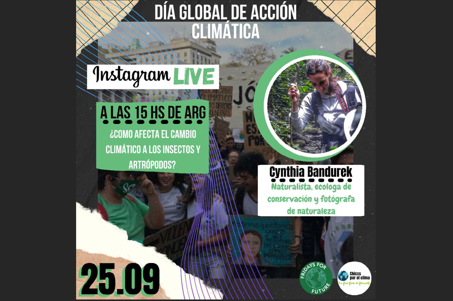 Children for the Climate Change Argentina: Live Interview